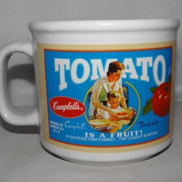 4df77807465 Vintage Sunny Good Tomato Campbell Soup Mug